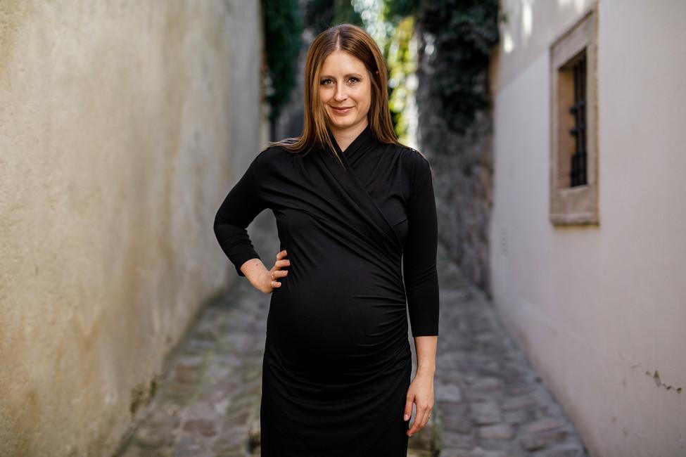Tehotenské šaty WRAP - Donee the Label - tehotenská móda 94785aa8036