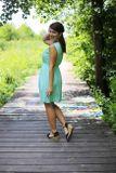 Šaty EDEN na dojčenie - mätová