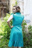 Košeľové šaty Cafe de Flore ľan