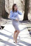 Tehotenská sukňa