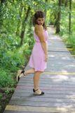 Šaty EDEN na dojčenie - baby pink