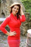 Šaty WRAP red