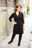 Šaty DALIA - čierne