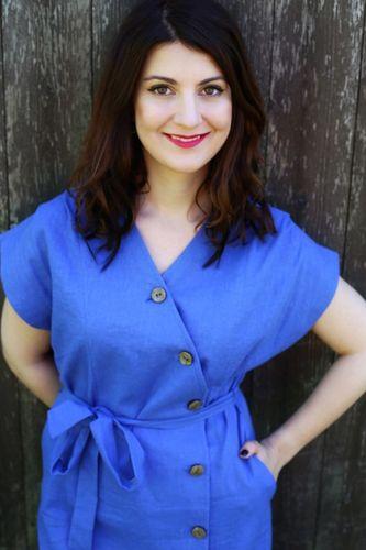 Košeľové šaty Liana violet