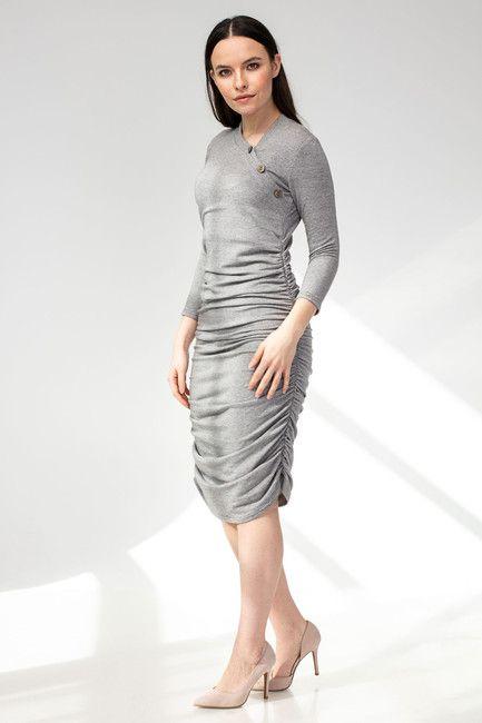 Tehotenské šaty BUTTON - Donee the Label - tehotenská móda bfe7bb17b3f